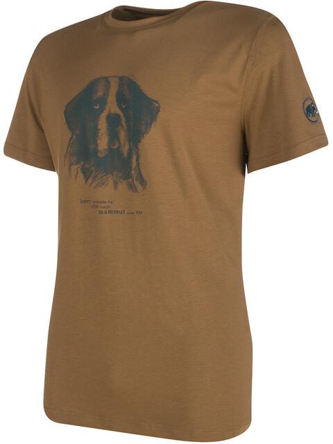 Mammut Barryvox t-shirt Heren bruin